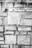 一个石墙的纹理 库存图片