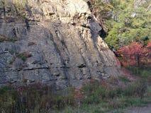 一个石墙 免版税图库摄影