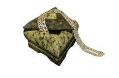 一个石小箱 免版税库存图片