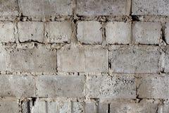 一个石房子的墙壁从具体块特写镜头的 图库摄影