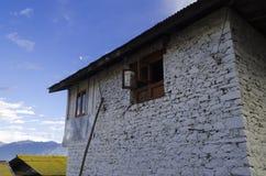 一个石房子 免版税库存图片