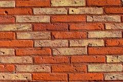一个砖墙作为背景 免版税库存图片