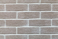 一个空白砖墙 免版税库存照片
