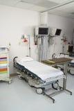 一个空的医房的内部 免版税库存照片