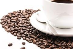 Coffee_cup_beans 库存图片