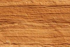 一个红色岩石的纹理 图库摄影