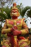 一个红色巨人, Chiangmai,泰国 免版税库存图片