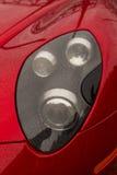 一个红色车灯 免版税图库摄影