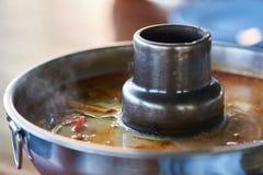 一个罐热的可口汤姆goong 图库摄影