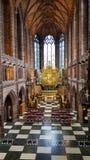 一个美丽的圣母堂在利物浦 免版税图库摄影