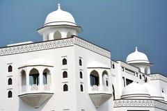 一个美丽的地方清真寺在拉合尔,巴基斯坦 免版税库存照片