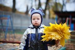 一个美丽的男孩的画象 免版税库存照片