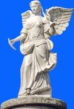 一个美好的天使的大理石象 免版税库存图片