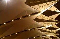 一个美好的天花板灯具 库存照片
