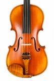 一个美好的小提琴身体 免版税库存照片