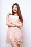 一个美好的13年年纪女孩 免版税库存图片