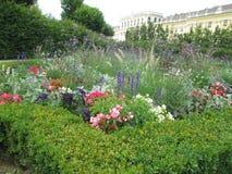 一个美妙的庭院在维也纳 免版税库存图片