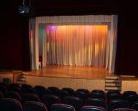 一个美妙的戏院 免版税库存图片
