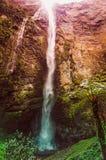 一个美妙的风景叫Gocta,位于秘鲁 免版税图库摄影