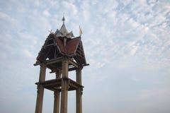 一个老佛教教会1 库存图片