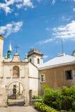 一个老修道院 免版税库存照片