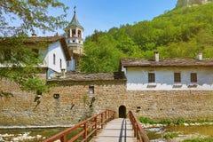 一个老修道院 免版税图库摄影