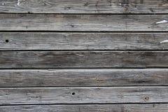 一个老和破裂的木盘区的纹理 图库摄影