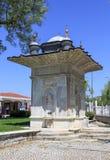 一个老喷泉 免版税图库摄影