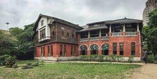 一个老图书馆在台北,台湾 图库摄影