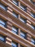一个老大厦的外部设计 库存图片