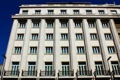 一个老大厦的详细资料,里斯本,葡萄牙 免版税图库摄影