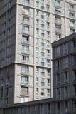 一个老大厦的门面 免版税库存图片