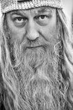 一个老巫医的画象 免版税库存图片
