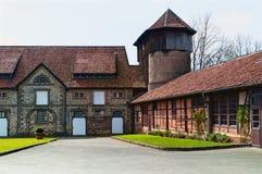 一个老庭院在德国 图库摄影