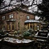 一个老房子在荷兰 免版税图库摄影