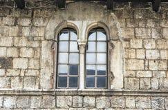 一个老房子在Porec克罗地亚 库存图片