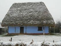 一个老房子的图片 免版税库存图片