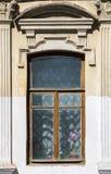 一个老房子的视窗 免版税图库摄影