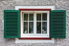 一个老房子的视窗 库存照片