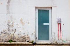 一个老房子的门道入口 库存图片