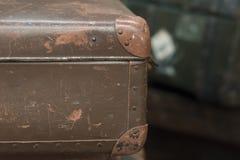 一个老手提箱 免版税库存图片