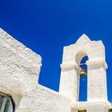 一个老教会的看法在克利特 图库摄影