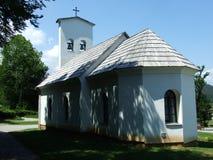 一个老教堂 免版税图库摄影