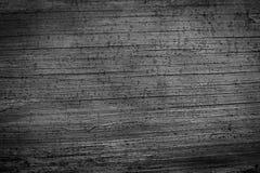 一个老木板的表面 单色照片 免版税库存图片