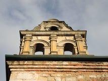 一个老殖民地大厦的细节。 免版税库存照片