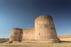 一个老清真寺的废墟 免版税库存图片