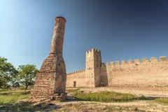 一个老清真寺的废墟 库存图片