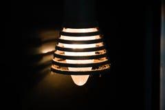 一个老电灯泡 免版税库存图片
