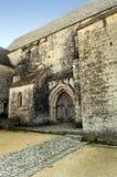 一个老石房子的入口 免版税库存图片
