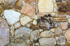一个老砖墙的照片 库存照片